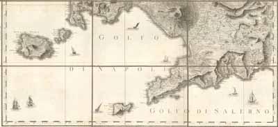 L'isola di Capri chiude il semicerchio ideale del Golfo di Napoli