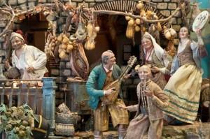 Tra il 600 e il 700 il presepe venne arricchito di tutte le simbologie che riconosciamo ancora oggi
