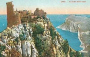 Il castello Barbarossa, costruito sulle pendici del monte Solaro porta il nome del pirata che lo distrusse