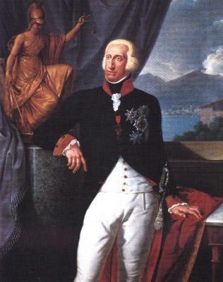 """Il re di Napoli, Ferdinando IV, detto anche Re Lazzarone (per l'abitudine di confondersi, travestito da lazzaro, appunto, tra i vicoli della città) o re Nasone, per questa sua """"evidente"""" caratteristica estetica"""